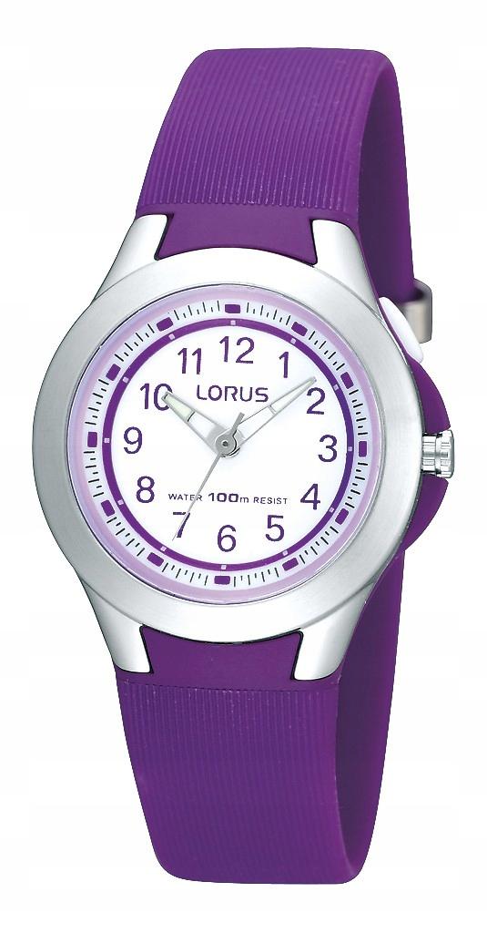 Lorus R2313FX9 wygodny zegarek na pasku