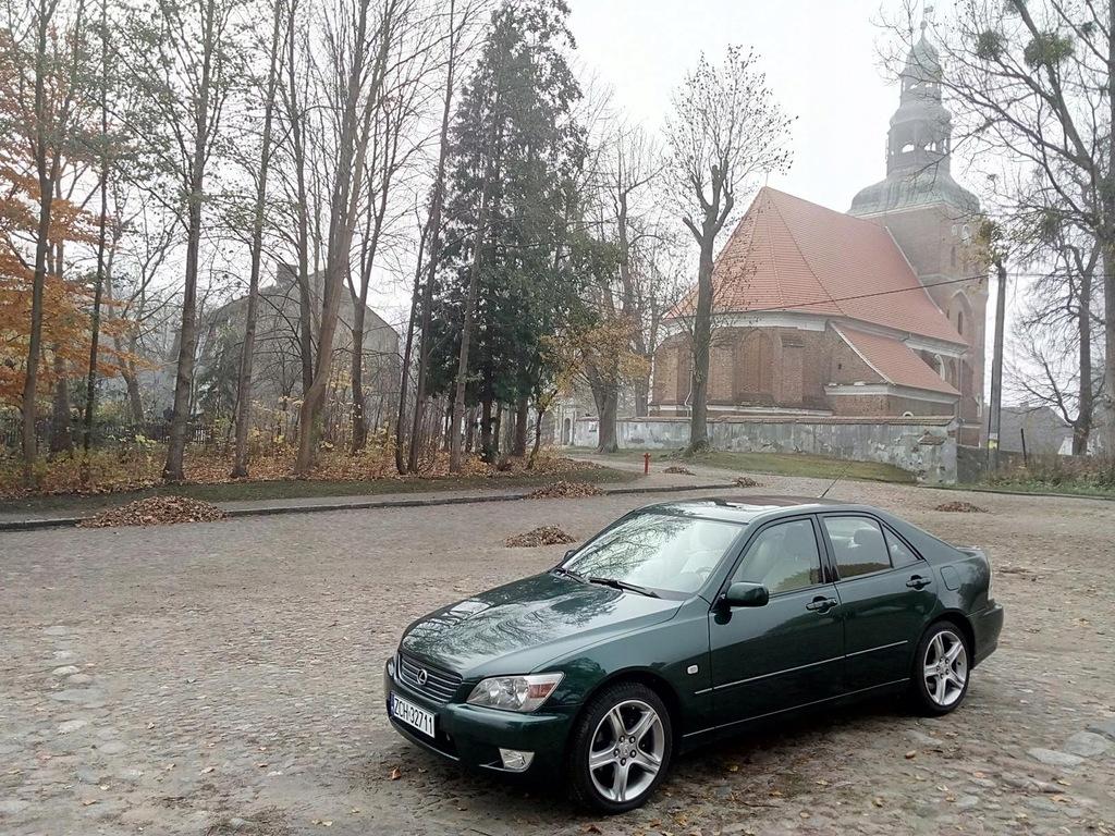 Lexus IS200, 1999, po kompletnej renowacji.