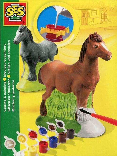 Odlew gipsowy 3D Koń