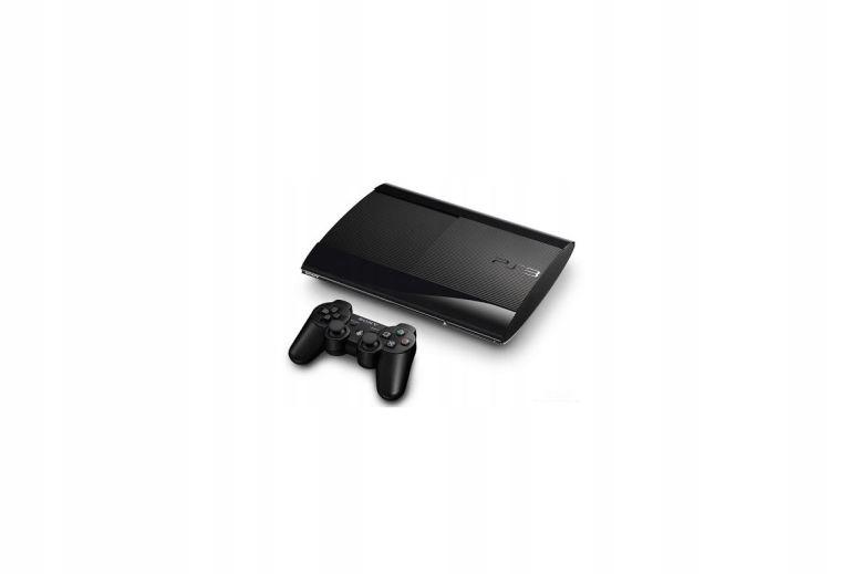 PS3 SUPER SLIM 12GB + PAD + ASSASSIN'S CREED