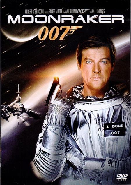 JAMES BOND 007: MOONRAKER, DVD nowy, lektor - 8329413087 ...