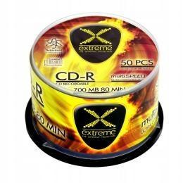 CD-R Extreme 700MB/80Min Cake Box 50 szt.