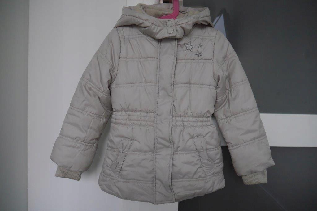COOL CLUB kurtka zimowa beż r.104