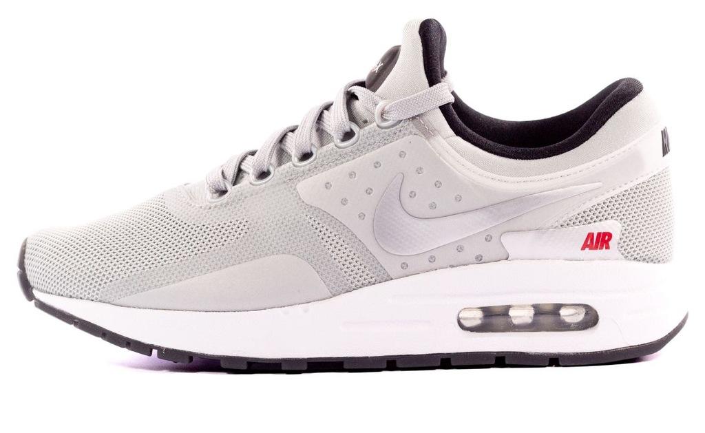 Buty Nike MęskieDamskie Nike Air Max Zero Qs Biały