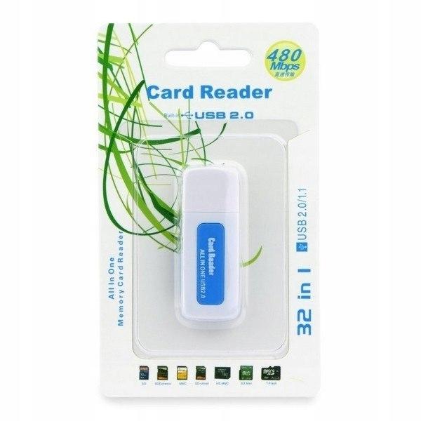 Czytnik kart pamięci SDHC/SD/MMC/RS-MMC