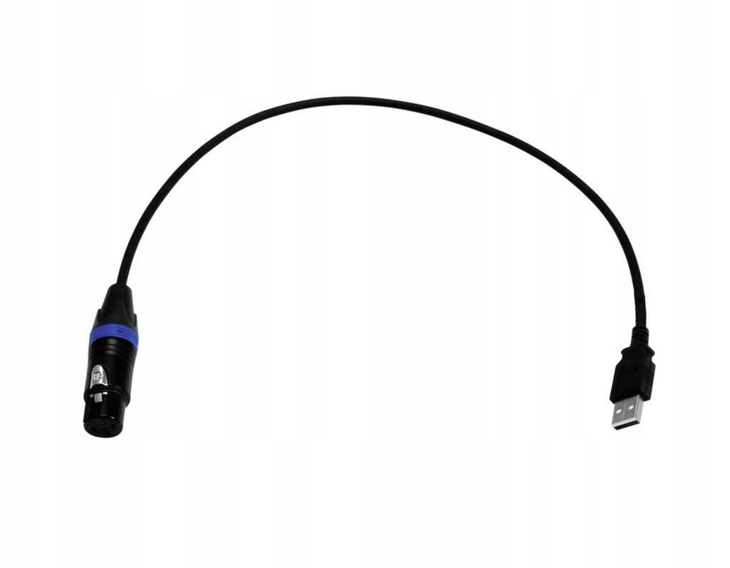 EUROLITE USB-DMX512 PRO Cable Interface +procesor