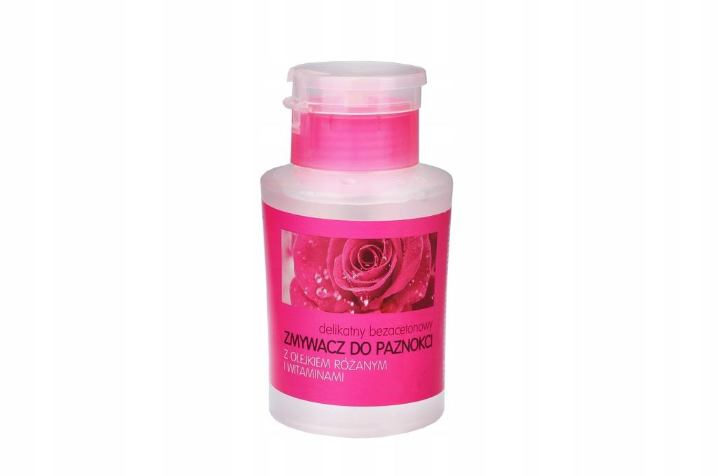 Dramers Róża 175ml zmywacz do paznokci bez acetonu