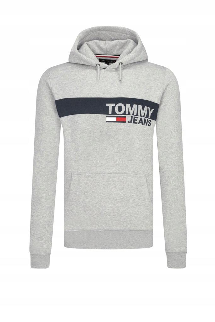 Tommy Hilfiger Rozmiar S Bluza ZIMA SZARA NOWOŚĆ