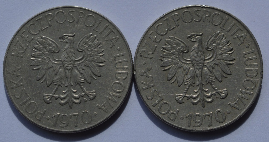 zł 10 Tadeusz Kościuszko 1970r TYP A+B (1)
