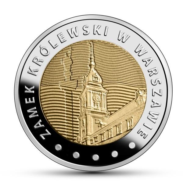 """5 zł """"Zamek Królewski w Warszawie """" 2014"""