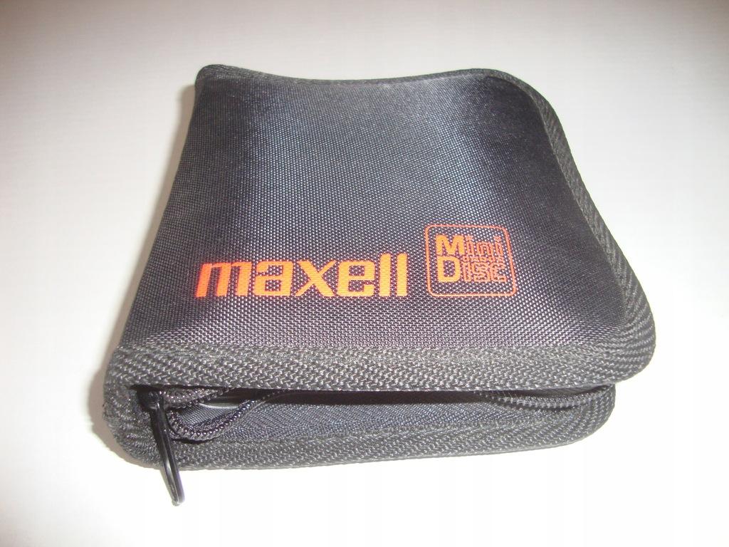 MAXELL MiniDisc ETUI
