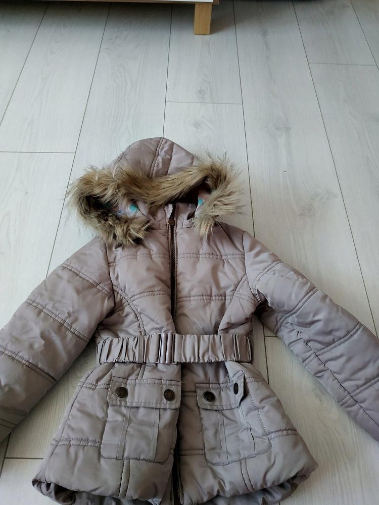 Dziewczynka ubranka zima roz. 110