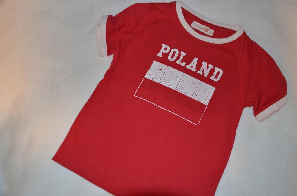 T-shirt małego kibica Cool club r110