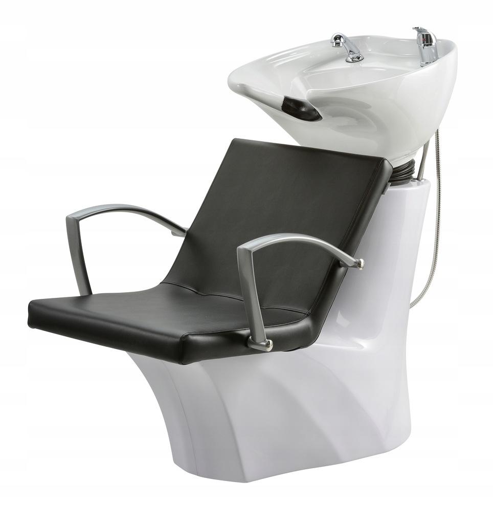 Myjnia Fryzjerska Milano LUX biała podstawa połysk