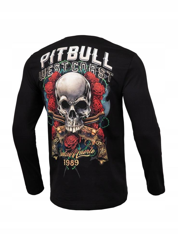 Longsleeve Santa Muerte Pit Bull (3XL) czarny