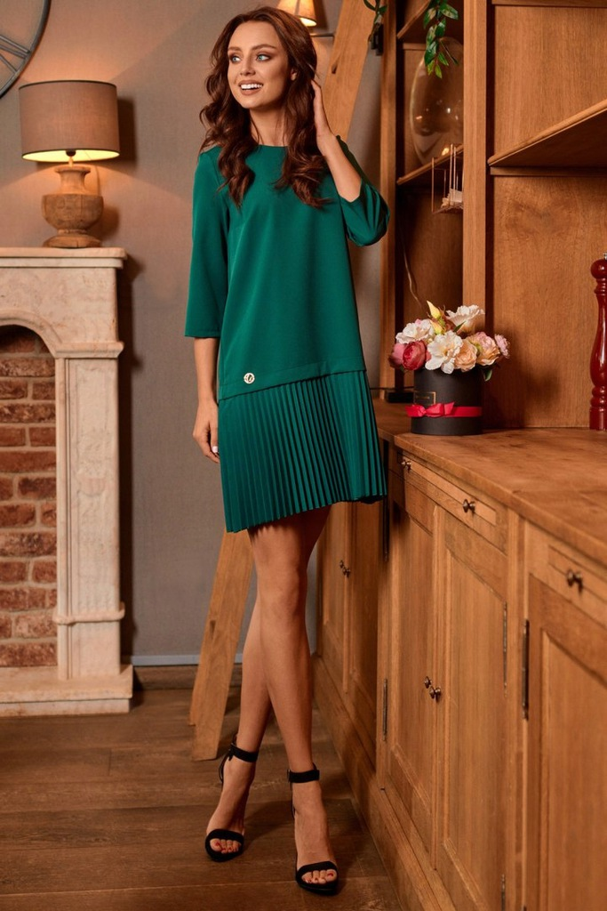 Sukienka Model L266 Dark Green
