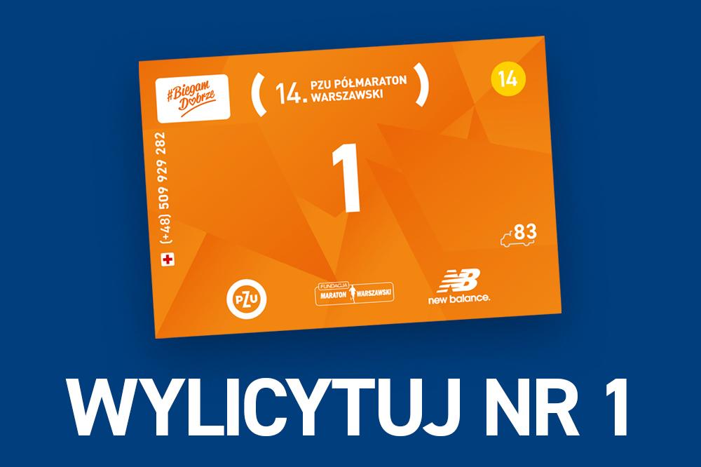 """Numer """"1"""" na 14. PZU Półmaraton Warszawski"""