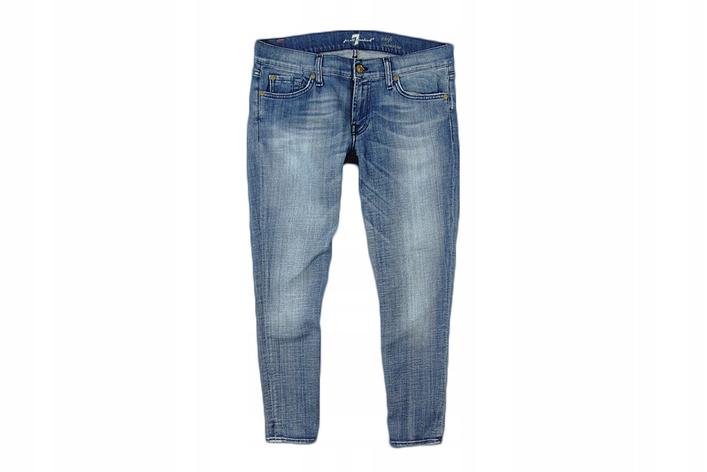 7 FOR ALL MANKIND - CROP ROXANNE JEANSY 3/4 - 30