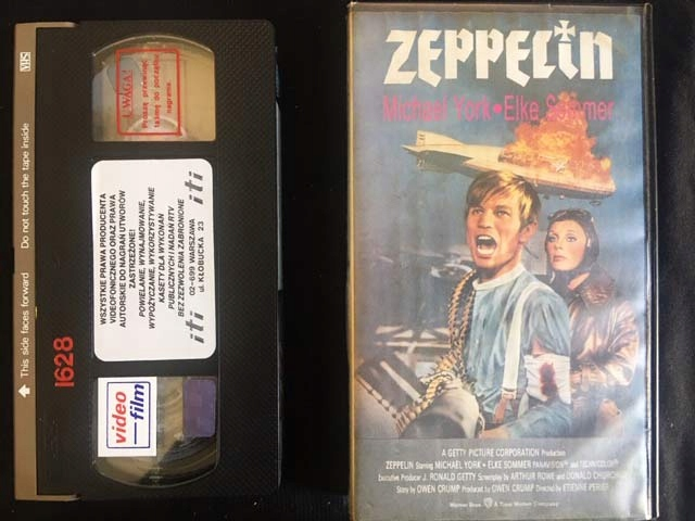 ZEPPELIN 1971 VHS KASETA VIDEO