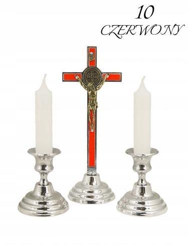 Komplet kolędowy 10 - Św. Benedykt czerwony
