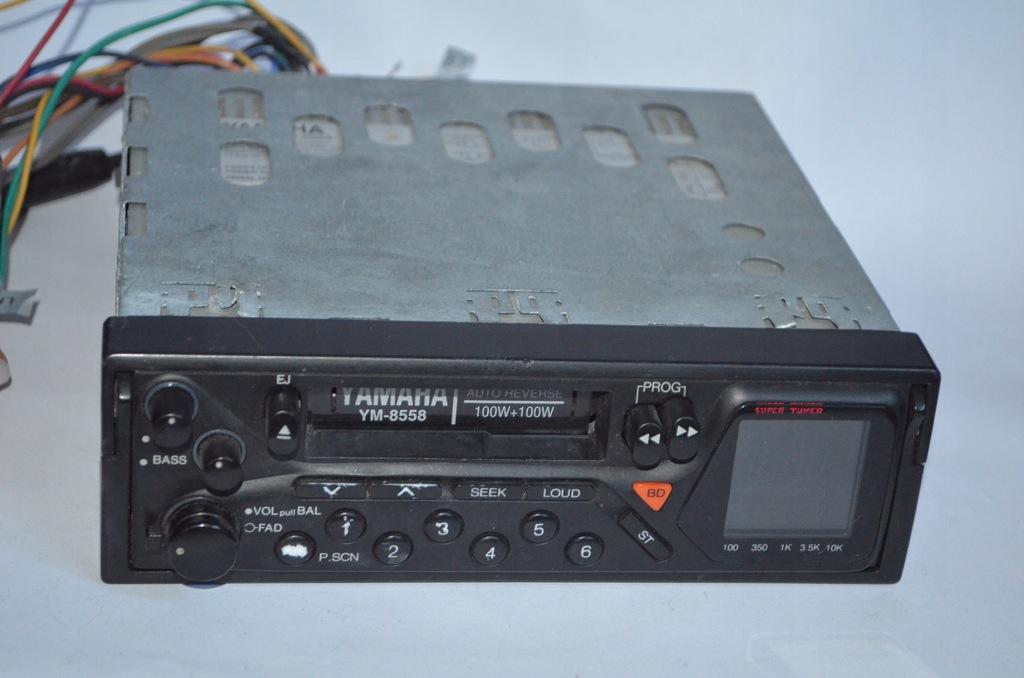 YAMAHA YM-8558 panel radio CAR złącza #KPO