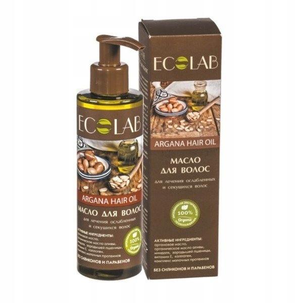Wzmacniający arganowy olejek do osłabionych i łaml