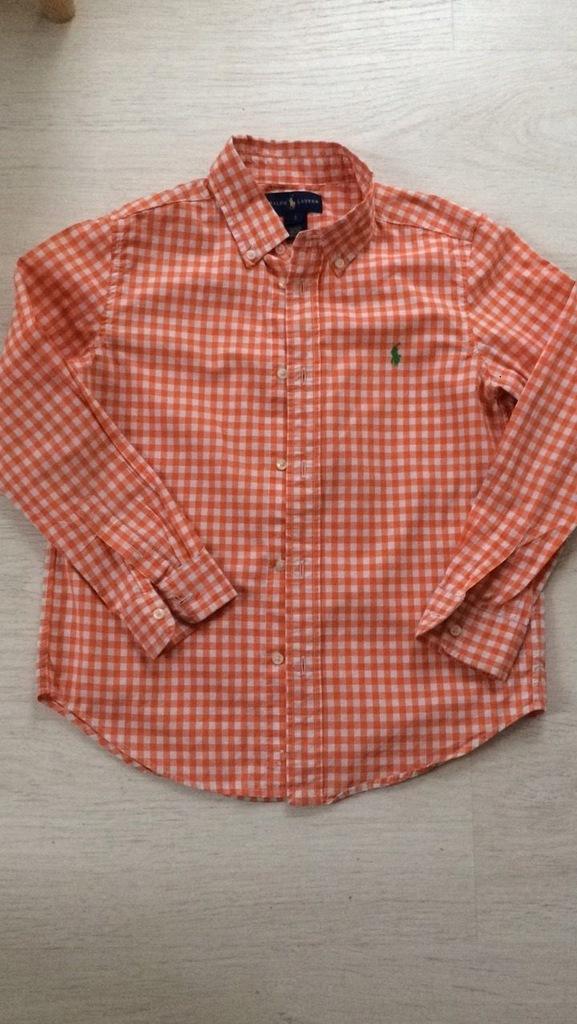 Koszula RALPH LAUREN dla chłopca NOWA 128 zara
