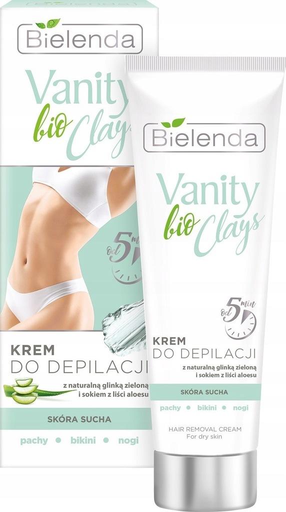 Bielenda Vanity bio Clays Krem do depilacji z ziel