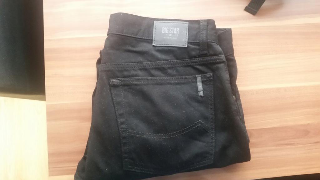 Spodnie BIG STAR FITREGULAR LEG STRAIGHT L32 W 34
