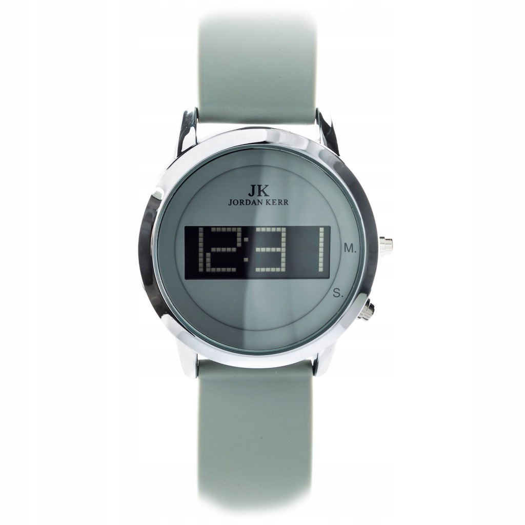 Zegarek uniseks Jordan Kerr LCD 3 lata gwarancji