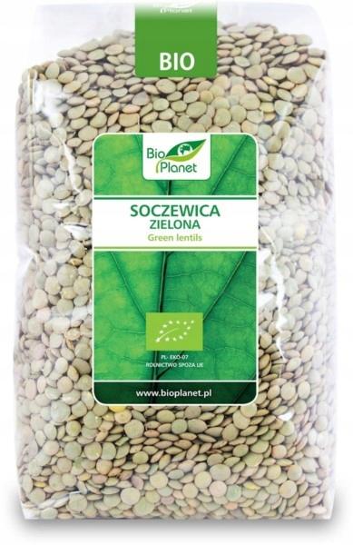 BIO PLANET Soczewica zielona BIO 1kg