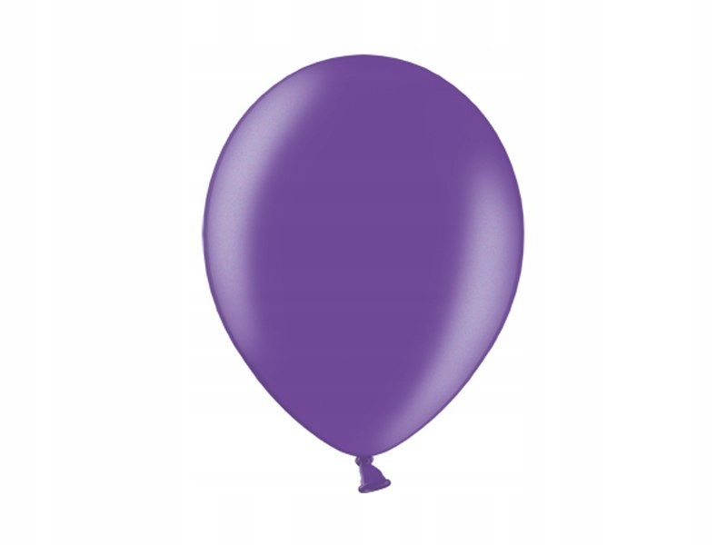 """Balony 12'', Metallic Purple (1op=100 szt)"