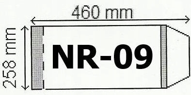 Okładka na podr B5 regulowana nr 9 (25szt) NARNIA