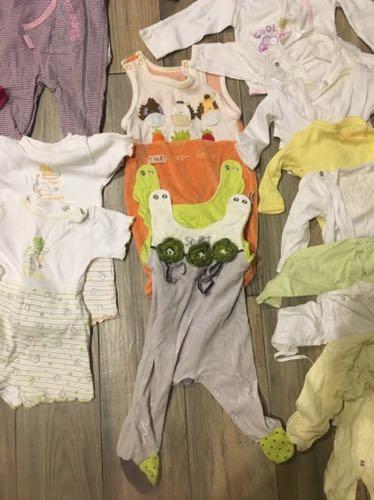 Zestaw ubranka ciuszki body pajac dzieciece