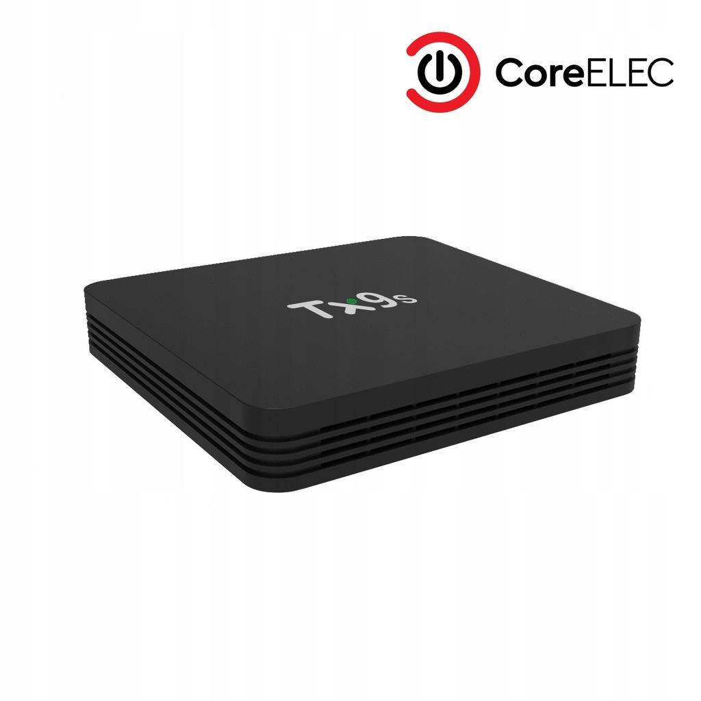 Coreelec Tx9s Przystawka Smart Tv Box Iptv Kodi 18 8920771902 Oficjalne Archiwum Allegro