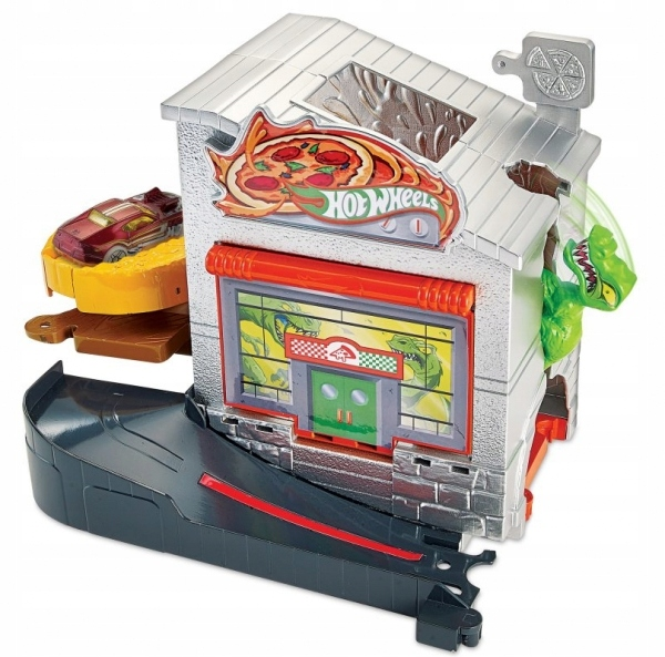 Hot Wheels City: Zestaw Miejski Dino Pizza (FRH28/