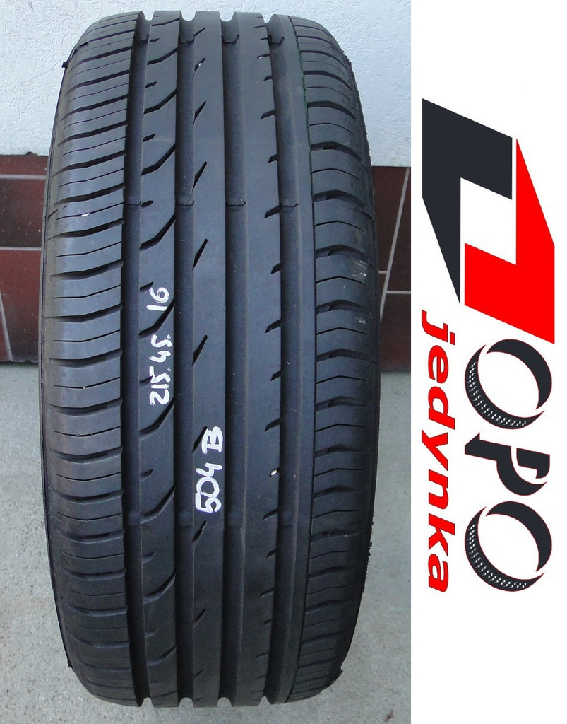 215/45/16 CONTINENTAL ContiPremiumContact 2 b: 8mm