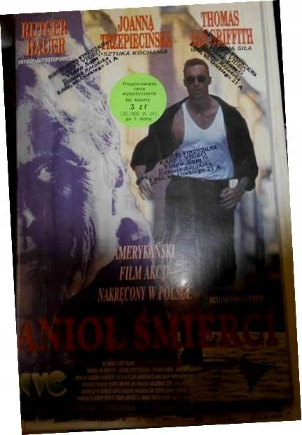 Anioł śmierci - VHS kaseta video