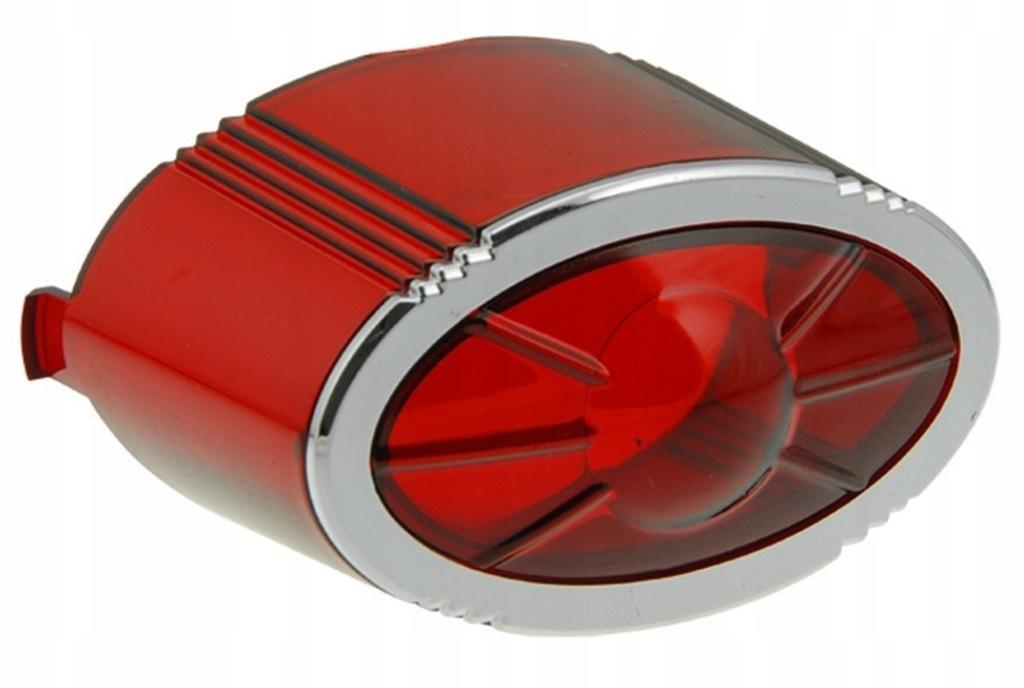 Klosz wewnętrzny STR8 Lexus NG, czerwony, owalny