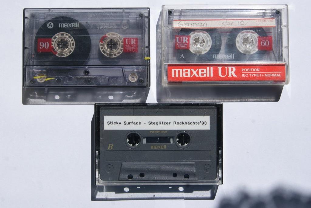 MAXELL UR 60, 90 - 3 SZTUKI