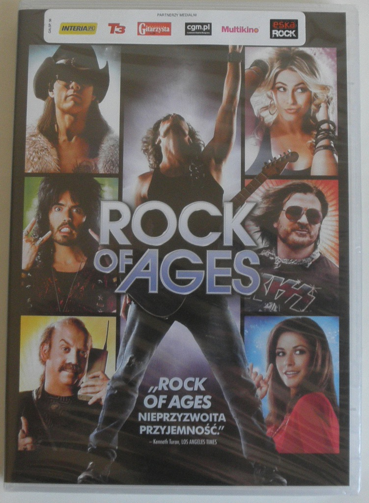 DVD ROCK OF AGES NOWY FOLIA