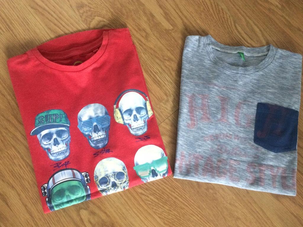 T-shirt BENETTON i NEXT 2-pak, roz 140 cm 8-10 lat