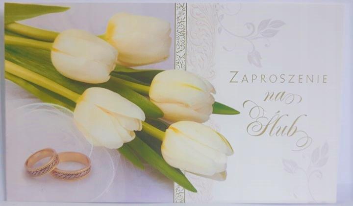 Zaproszenie Ślubne ślub Ś4