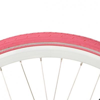 Opona Deli 28x1 12 reflex różowa