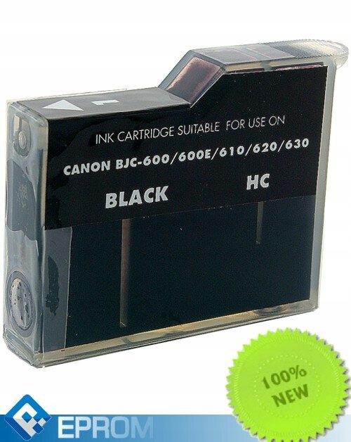 Tusz Canon 643 BJi Black Zamiennik BJC 600 Eprom