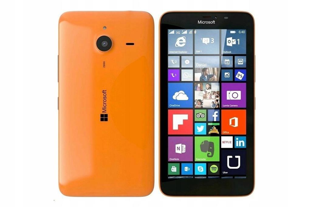 Microsoft Lumia 640 LTE Pomarańczowy, klasa C