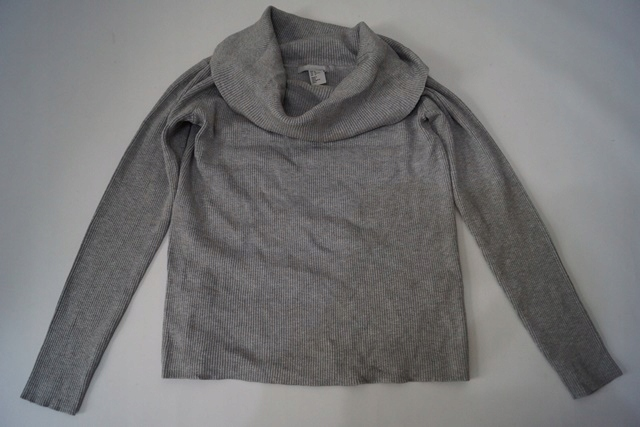 Sweter z odkrytymi ramionami H&M 38 M C93