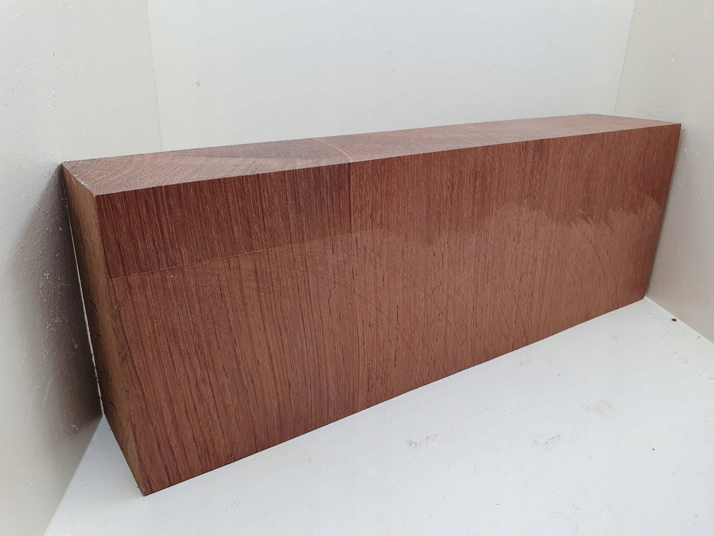(518) drewno BUBINGA - bloczek