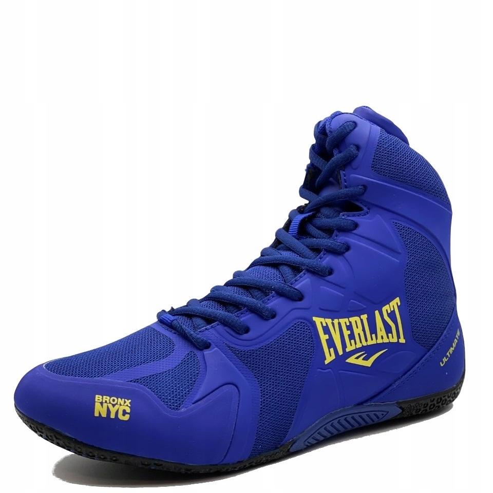 Buty bokserskie zapaśnicze EVERLAST MMA BLUE