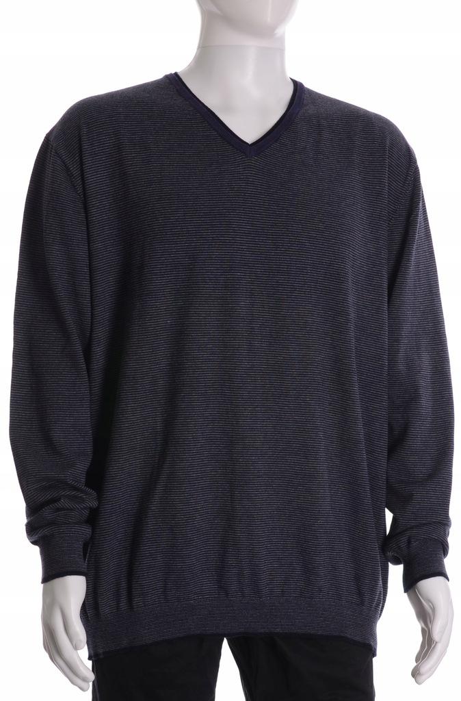 PIERRE CARDIN sweter męski PIMA COTTON MERINO 3XL